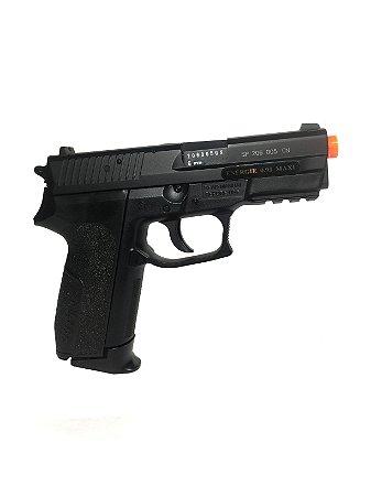 Pistola de airsoft Sig Sauer SP2022 Cybergun á gás CO2 Slide metal (GNBB) - Cal. 6mm