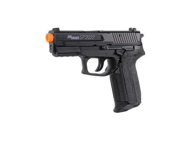 Pistola de airsoft á mola (Spring) Sig Sauer SP2022 HPA Cybergun - Cal. 6mm