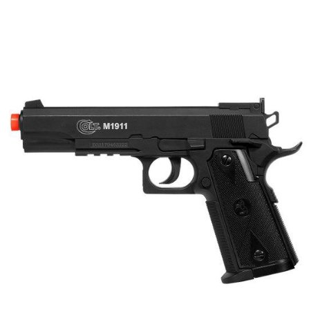 Pistola de airsoft Colt 1911 Cybergun á gás CO2 (GNBB) - Cal. 6mm