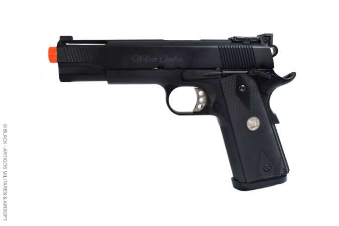 Pistola de airsoft 1911 R30 Wilson Combat Army armament á gás (GBB) Blowback/Full metal - Cal. 6mm