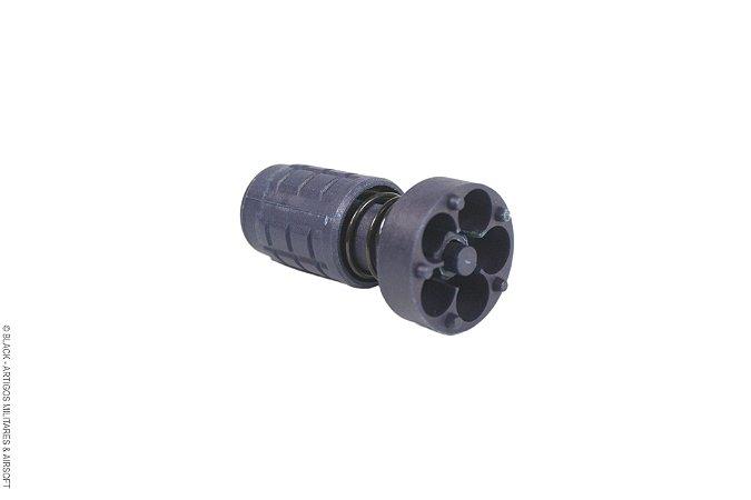 Remuniciador rápido Jetloader 8 tiros Shotgun para revólver calibre .38/ .357 - Azul marinho