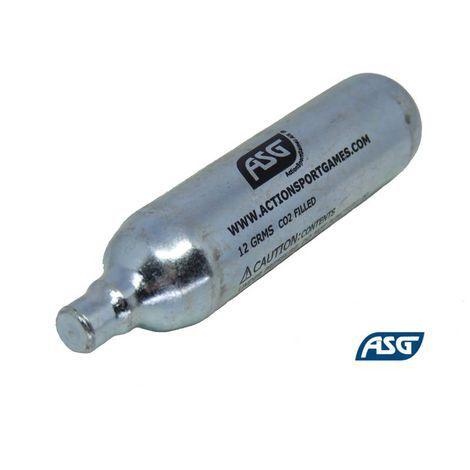Cilindro descartável gás CO2 12g - ASG
