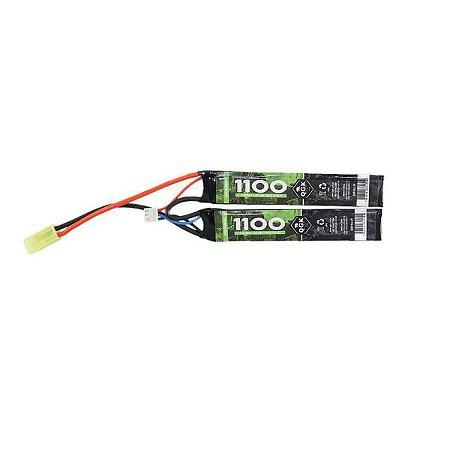 Bateria Lipo QGK 7.4V 20C 1100mAh Stick