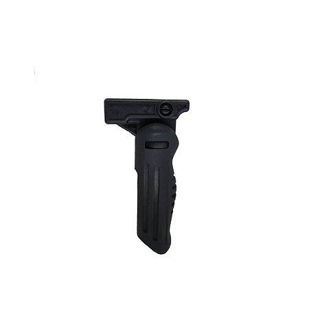 Empunhadura front grip Flip up rebatível - JG WORKS