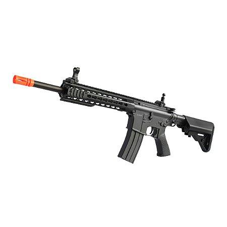 Rifle de airsoft elétrico AEG CYMA M4A1 Keymod Type CM515 - Cal. 6mm