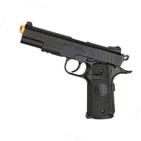 Pistola de airsoft STI DUTY ASG á gás CO2 GNBB Slide metal - Cal. 6mm
