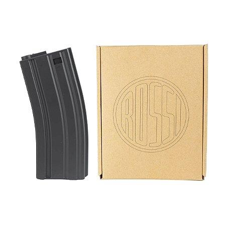 5x Magazine Mid-Cap Rossi 140 BBs padrão M4 M16 - Nylon