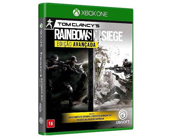RAINBOW SIX SIEGE ED. AVANÇADA - XBOX ONE