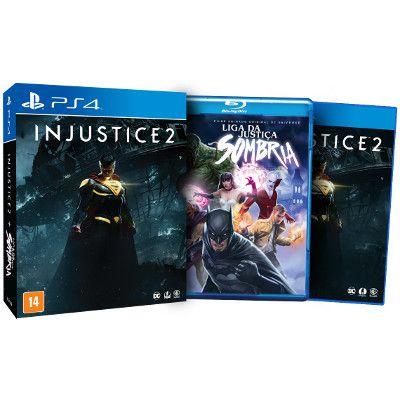 Injustice 2 - Edição Limitada - PS4