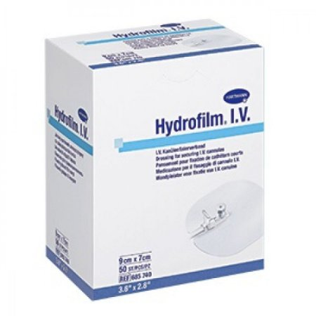 Curativo Hydrofilm I.V. Control Sterille 7x9cm Unidade - Hartmann