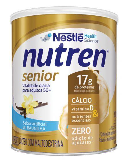 Nutren Senior Pó Sabor Baunilha - 370 g