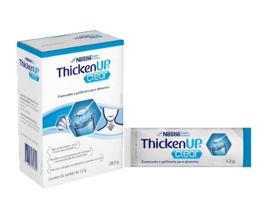 Thicken Up Clear - Display com 24 Sachês de 1,2 g cada