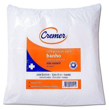Compressa Para Banho Não Estéril Cremer 35x45