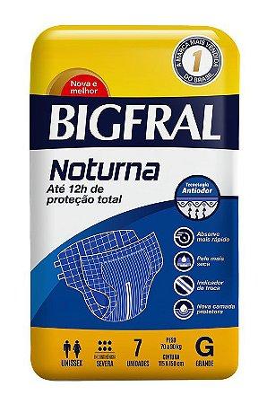 Fralda Bigfral Noturna Tamanho G