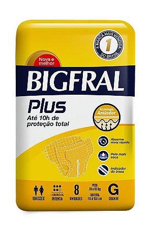 Fralda Bigfral Plus Tamanho G