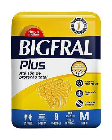 Fralda Bigfral Plus Tamanho M
