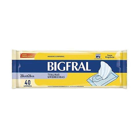 Toalhas Umedecidas Bigfral