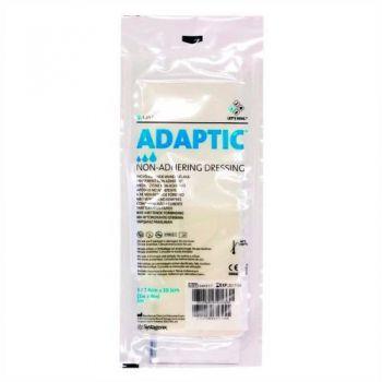 Curativo Adaptic Malha não Aderente 7,6x20,3cm Systagenix 3u