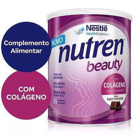 Nutren Beauty Sabor Dark Chocolate - 400 g