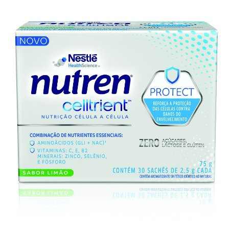 Nutren Celltrient - Display com 30 Sachês de 2,5 g cada PAGUE 1 LEVE 2