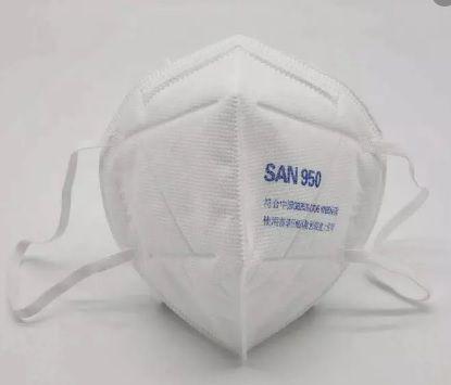 Máscara Proteção Respiratória PFF2 SAN 950 Nutriex