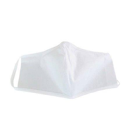 Proteção Respiratória de Tecido Lav. Branca Dupla Kit c/03