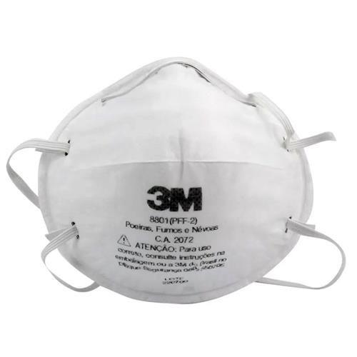 Protetor Respiratório PFF2 8801 3M - Unidade