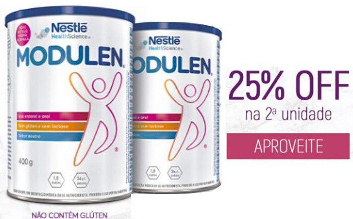 Modulen 400g  - 25% de desconto na compra da 2° unidade