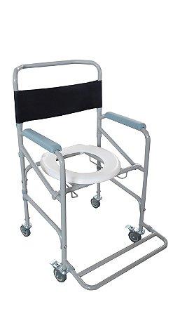 Cadeira para higiene D40 Até 100kg  - Dellamed