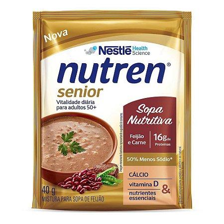 Nutren Senior Sopa de Feijão e Carne 40g