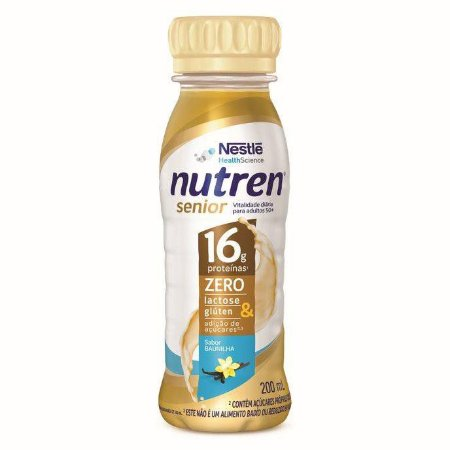 Nutren Senior Pronto Para Beber Baunilha - 200 ml