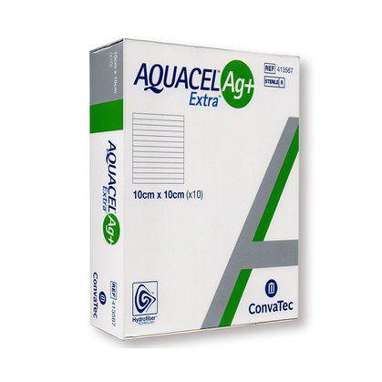 Curativo Aquacel Ag+ Extra 10cm x 10cm Unidade