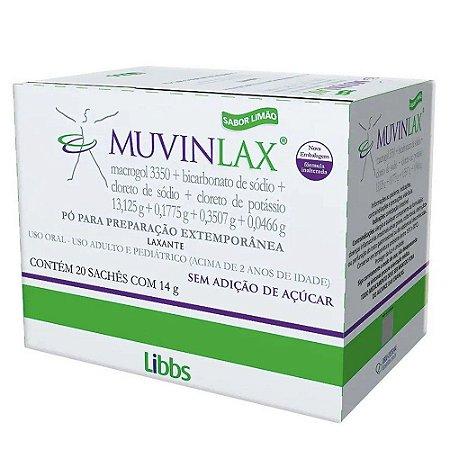 Muvinlax caixa com 20 sachês de 14g - Libbs