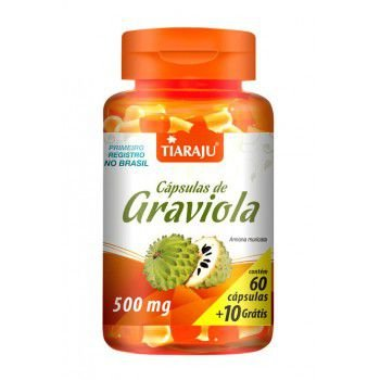 Graviola 500MG 60+10CPS (70CPS) S/GLUTEN - TIARAJU