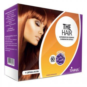 The Hair Sup Vit 750MG 60CPS GEL S/GLUTEN TIARAJU