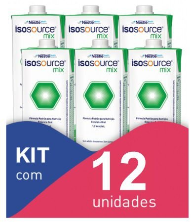 Isosource Mix - Kit com 12 unidades