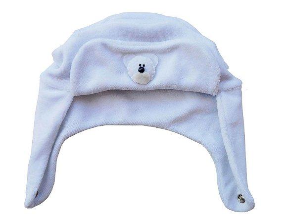 Touca Bebê Chaves Branca - Mary Baby 06344a80392