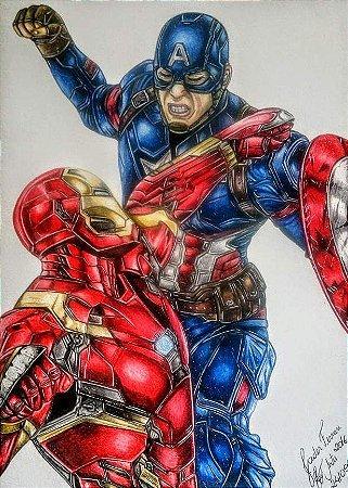 Capitão América vs. Homem de Ferro - Original