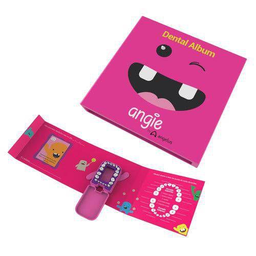 Álbum dental Angie- Rosa