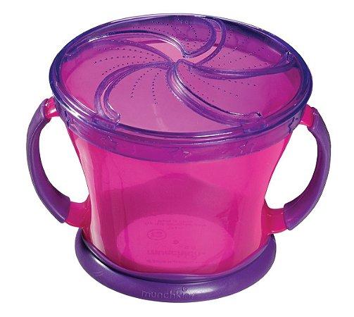 Porta biscoitinhos rosa-roxo