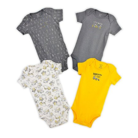 KIT BODY 5 BODYS CARTERS- HANDSOME - 3 MESES