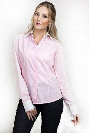 Camisa Feminina Social Listrada Juan Rosa