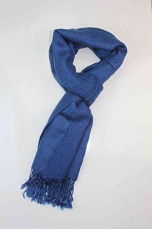 Echarpe Azul Índigo