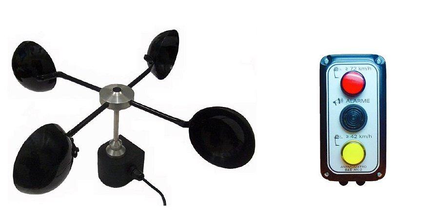 Anemômetro Estacionário Com Indicador Sonoro Modelo AN-2