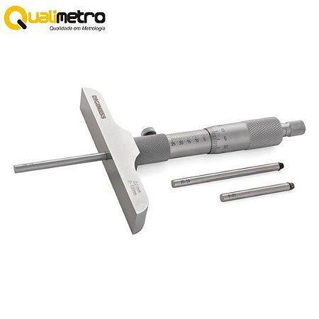 Micrômetros Profundidade (Fixação Bucha-Base 63mm)