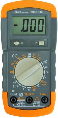 Multímetro Digital Modelo MD-1002