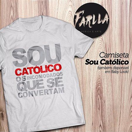Camiseta  Sou Católico