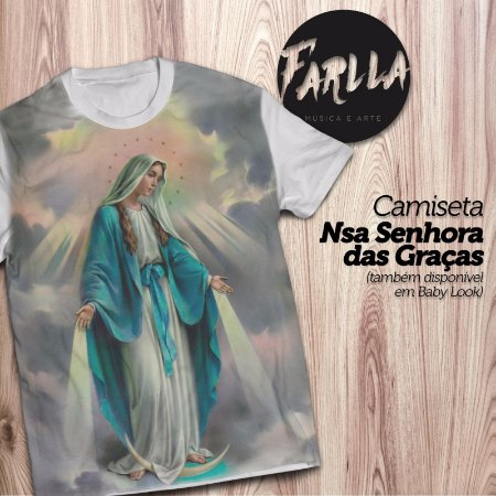 Camiseta Nossa Senhora das Graças