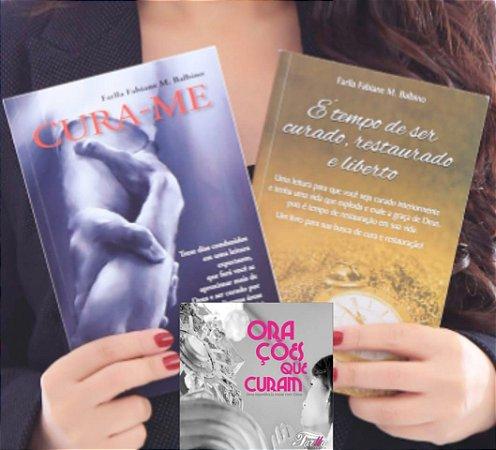 Promoção -  Na compra de dois livros de CURA, GANHE o CD Orações que Curam!