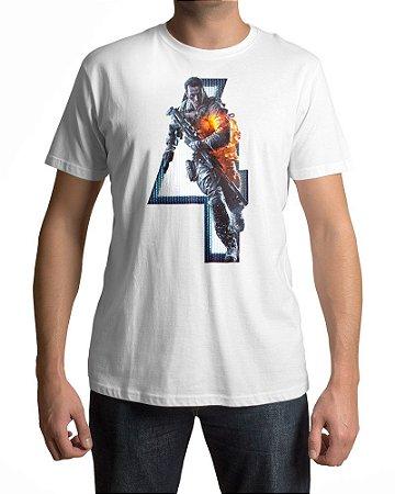 Camiseta BF4 Battlefield 4 Personagem